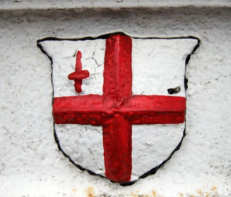 Markierungsfahne von England stockfotografie