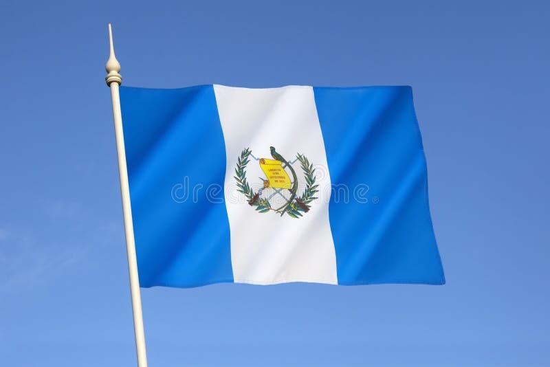 Markierungsfahne von Guatemala stockbild