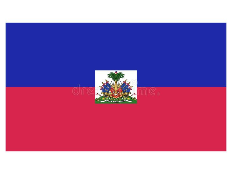 Markierungsfahne von Haiti vektor abbildung