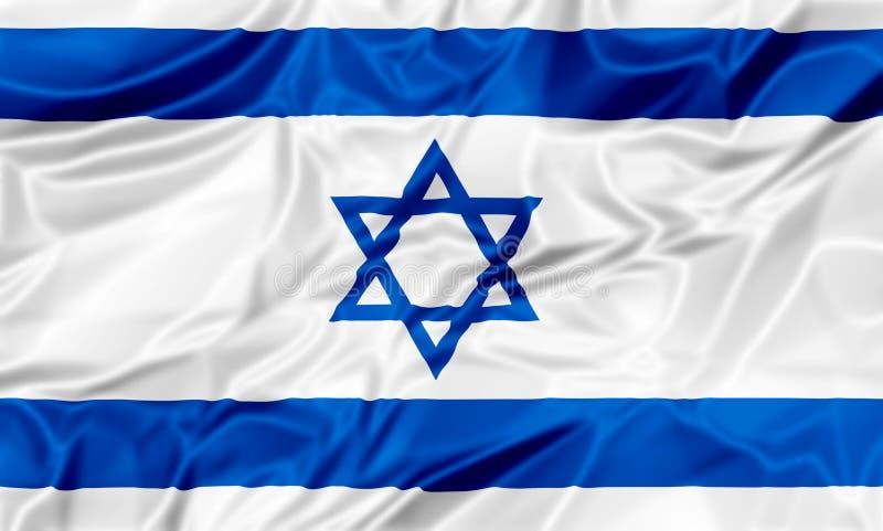 Markierungsfahne von Israel vektor abbildung