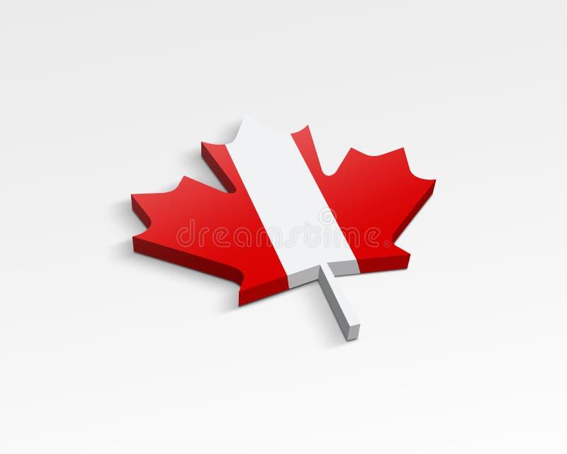 Markierungsfahne Von Kanada Stockbilder