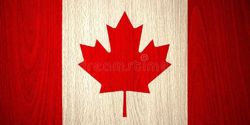 Markierungsfahne von Kanada vektor abbildung