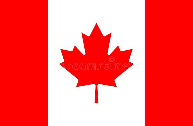 Markierungsfahne von Kanada stockfoto