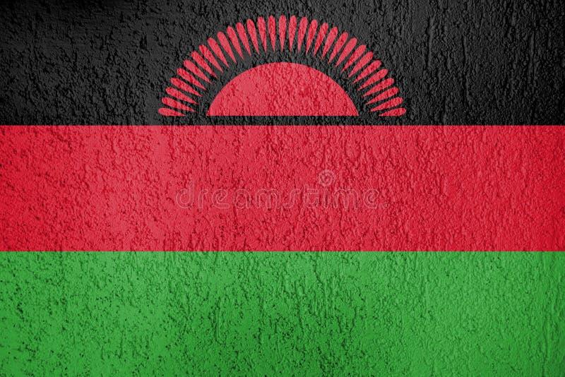 Markierungsfahne von Malawi vektor abbildung