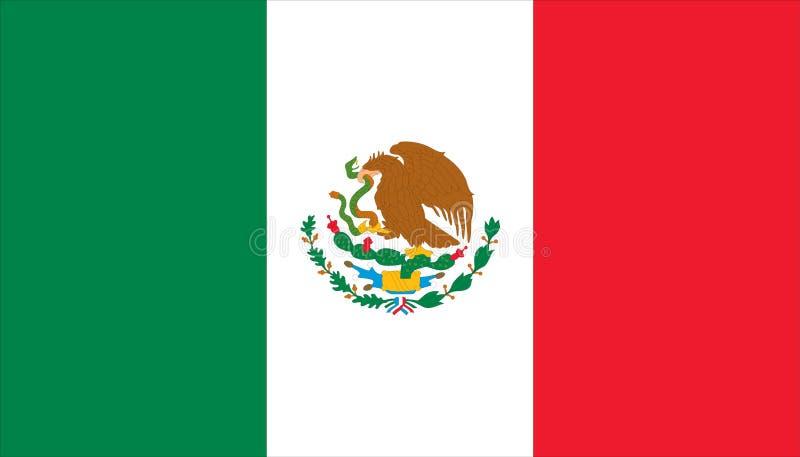 Markierungsfahne von Mexiko