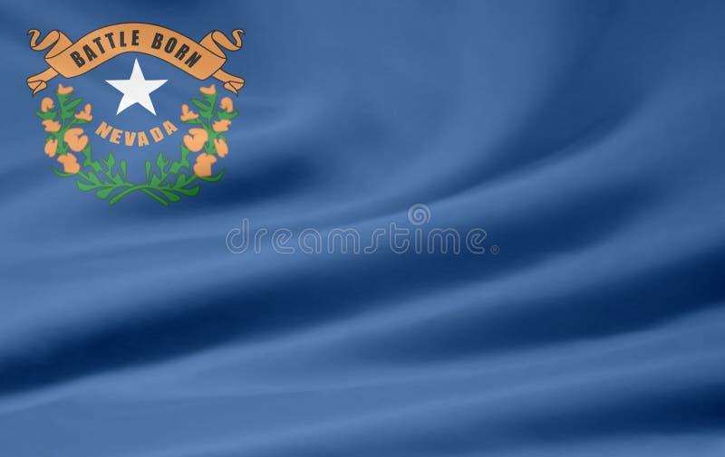 Markierungsfahne von Nevada vektor abbildung