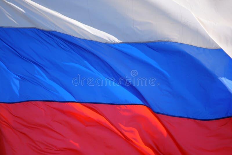 Markierungsfahne von Russland lizenzfreie stockbilder