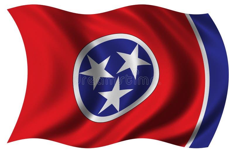 Markierungsfahne von Tennessee stock abbildung