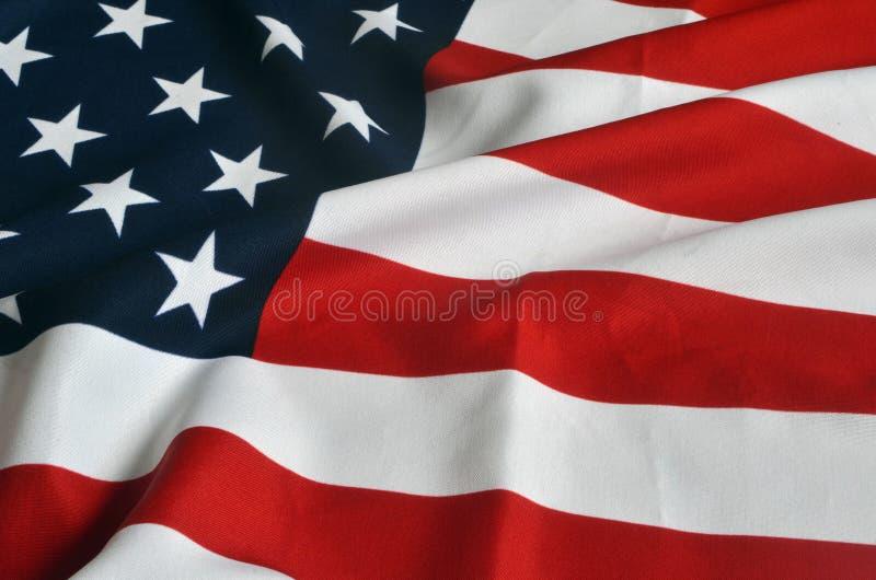 Markierungsfahne von USA stockbilder