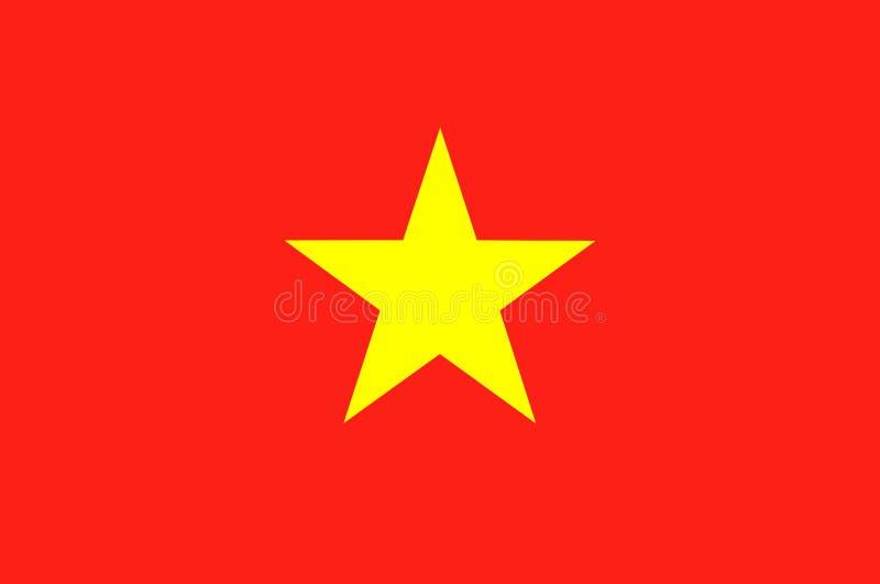 Markierungsfahne von Vietnam vektor abbildung