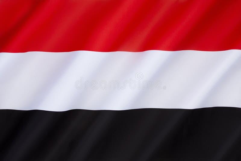 Markierungsfahne von Yemen stockfotografie