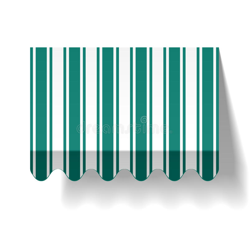 markisdroppe vektor illustrationer
