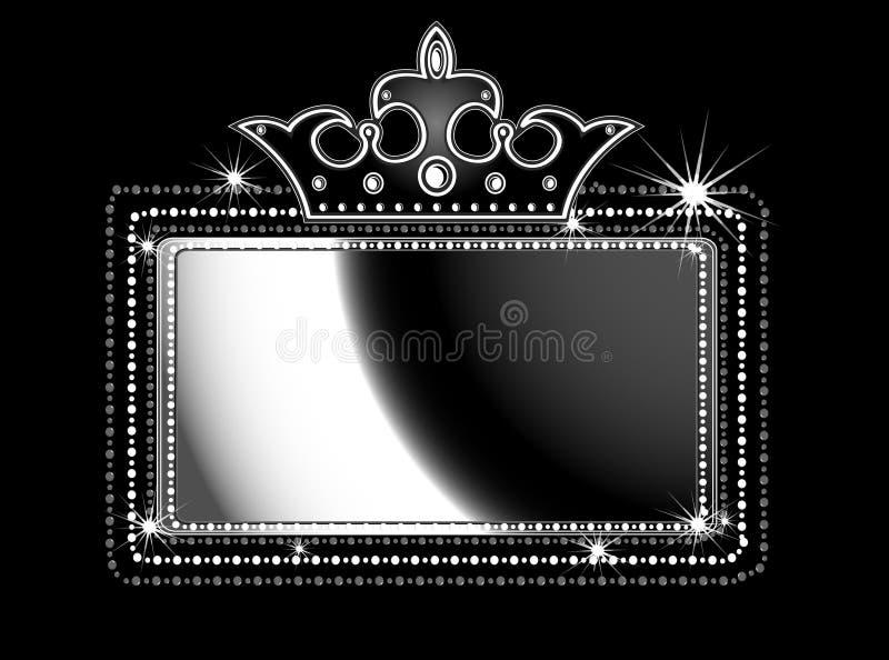 markiza czarny znak royalty ilustracja