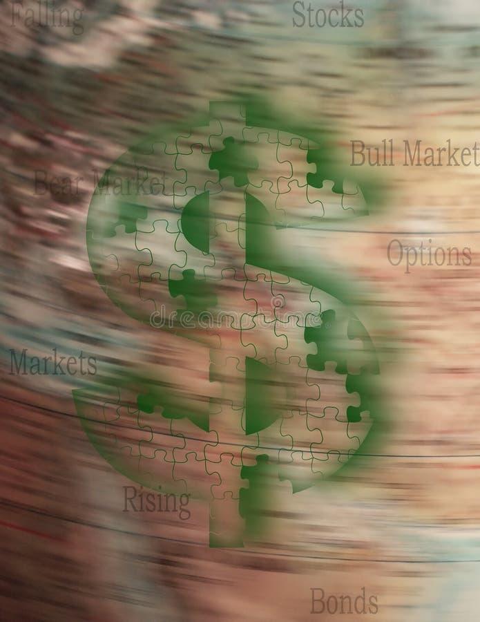 marknader vektor illustrationer