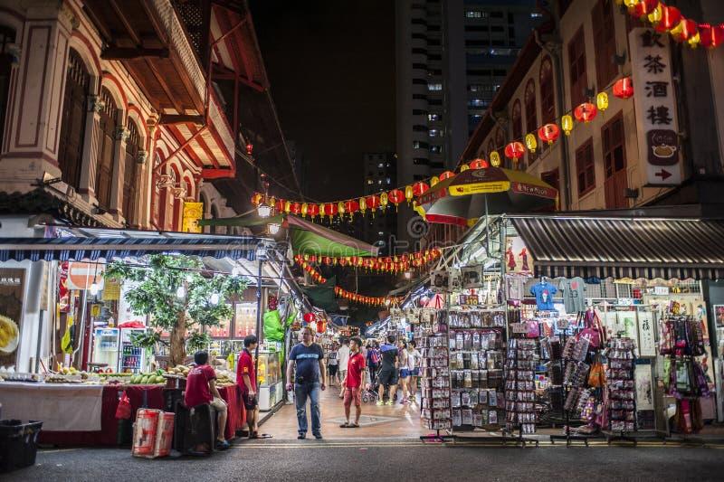 Marknads- och gatahandel arkivfoton