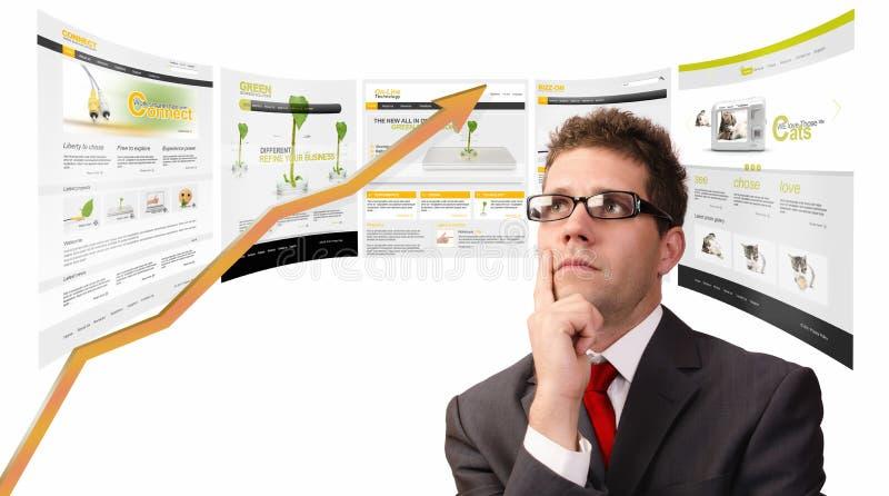 Marknadsföra rapporten arkivbild
