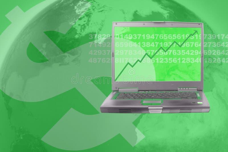 marknadsmateriel stock illustrationer