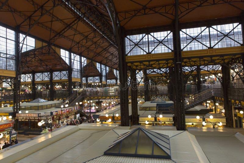 Marknadsplats Budapest arkivfoto