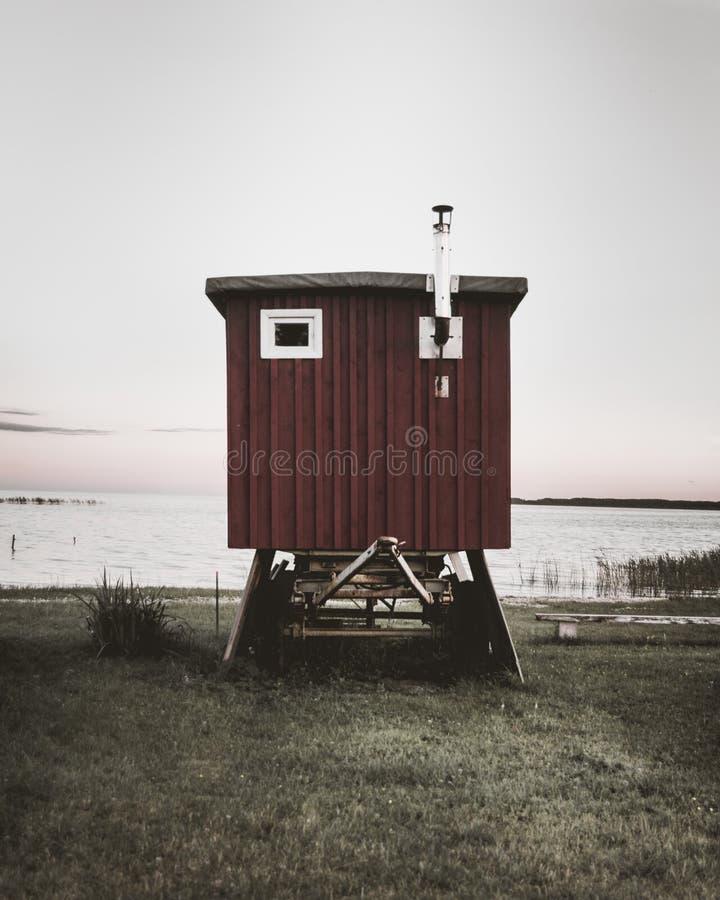 Markotna kabina zdjęcie stock