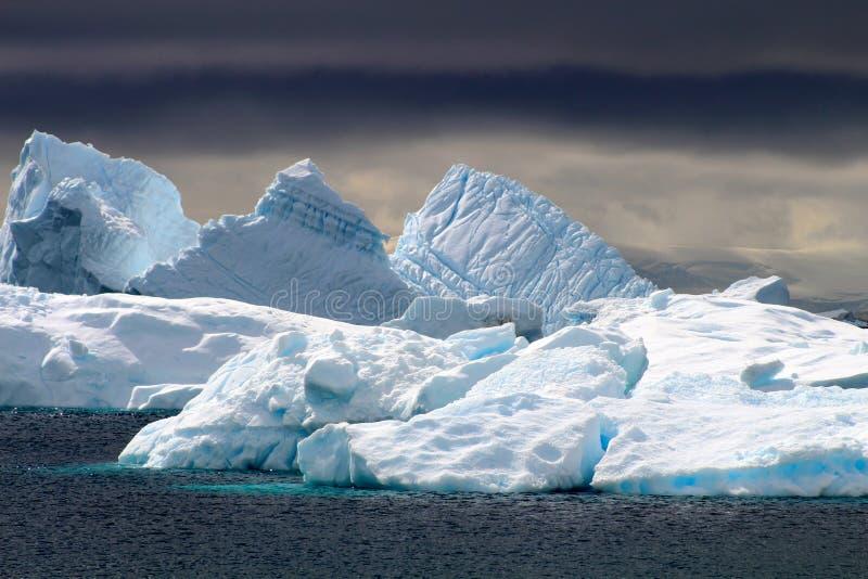 Markotny Antarctica obraz royalty free