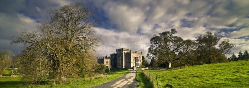 Markree城堡克鲁尼,秋天,斯莱戈郡,爱尔兰 库存照片
