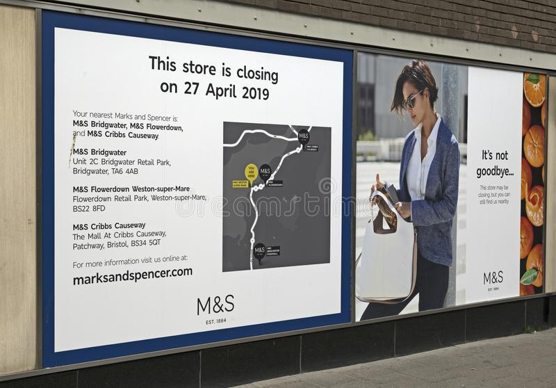 Marks and Spencer photo stock