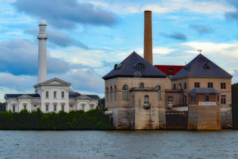 Marksteine Louisvilles Kentucky lizenzfreie stockfotos