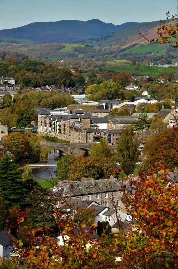 Marksteine von Cumbria - Kendal Landmarks stockfotos