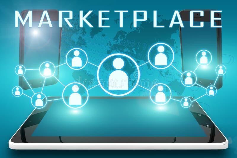 markt vektor abbildung