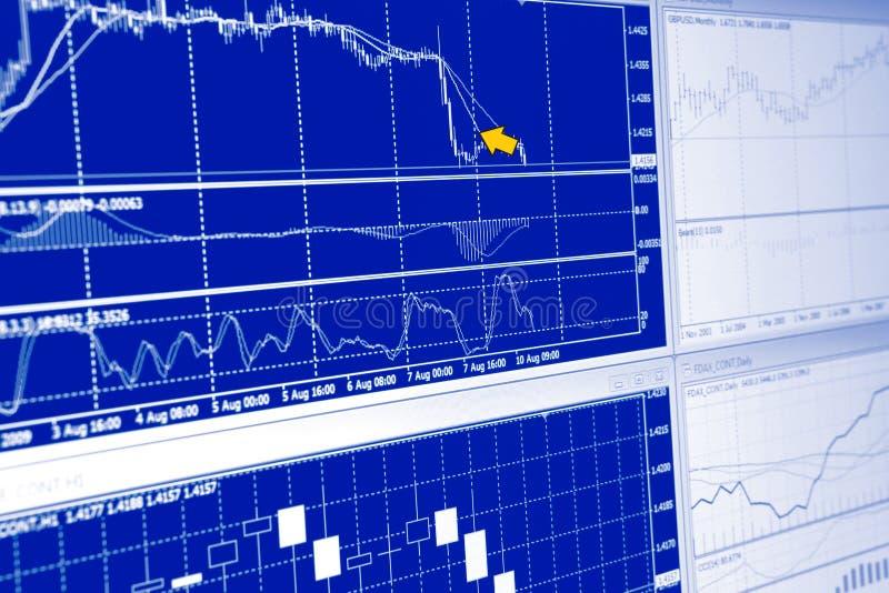 Markt analysieren stockbild