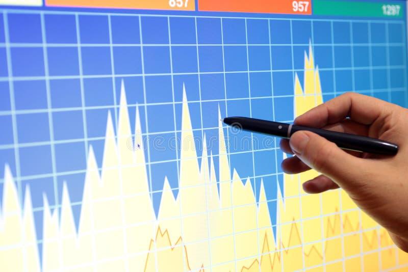 Markt analysieren stockfotos
