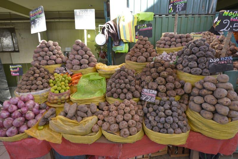 Markt, Arequipa, Peru stock foto
