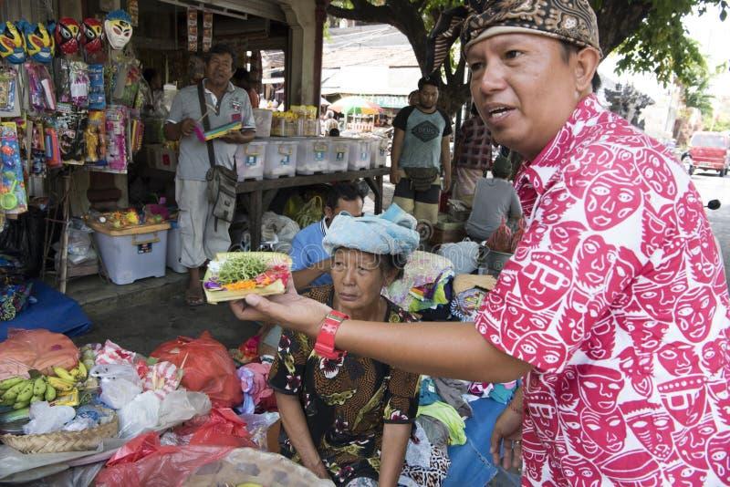 Markt Bali stock fotografie