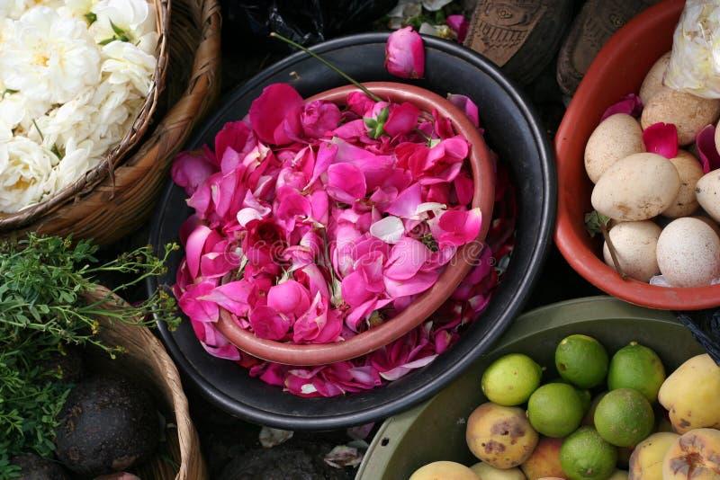 Markt bei Chichicastenango lizenzfreie stockbilder