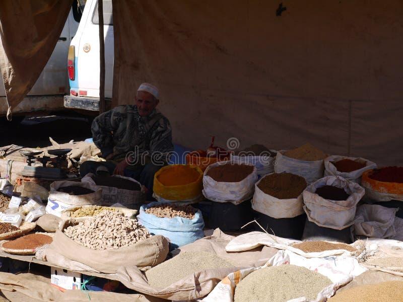 Markt in Beni Mellal royalty-vrije stock foto's