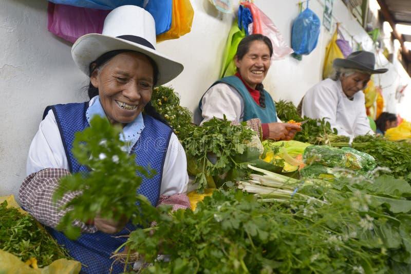 Markt, Cuzco, Peru royalty-vrije stock fotografie