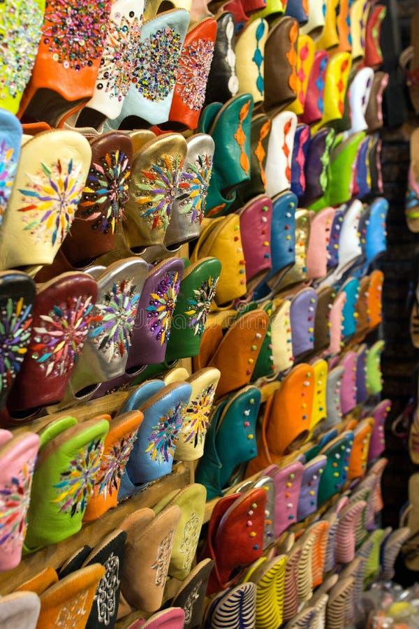Markt in Marokko stock foto's