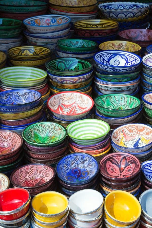 Markt in Marrakech stock afbeeldingen