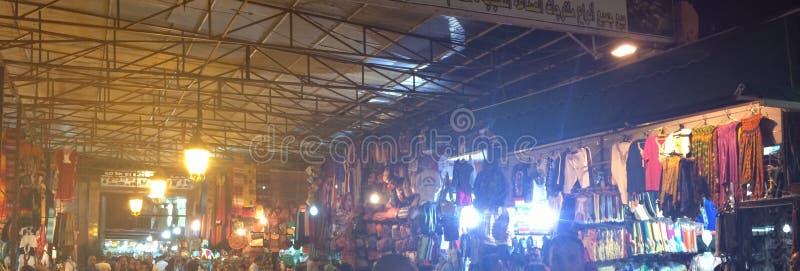 Markt in Marrakesch lizenzfreies stockbild