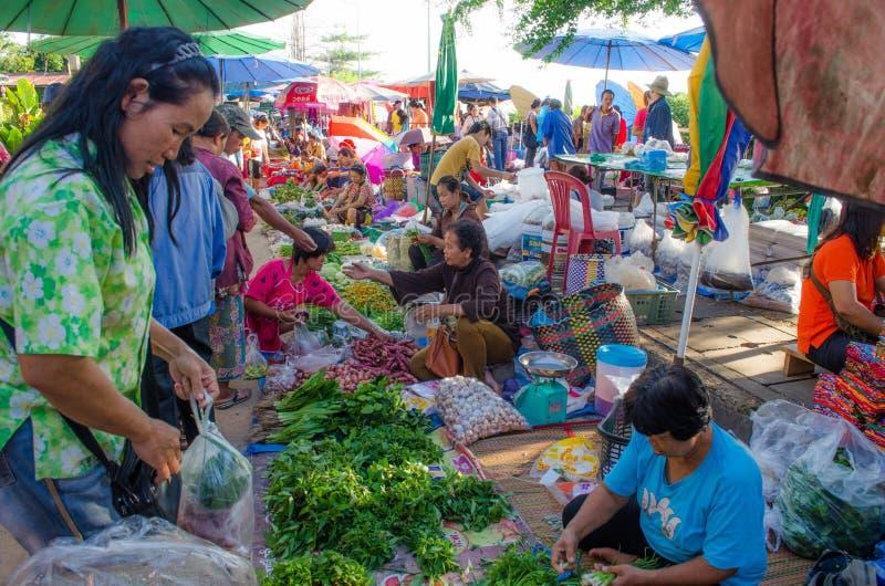 Markt morgens stockfoto