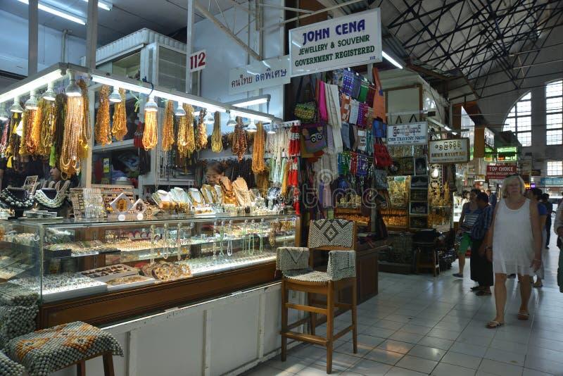 Markt Ranguns Bogyoke Aung San stockfoto