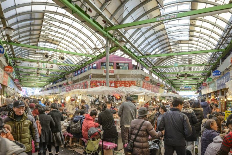 Markt Seouls, Südkorea stockbild