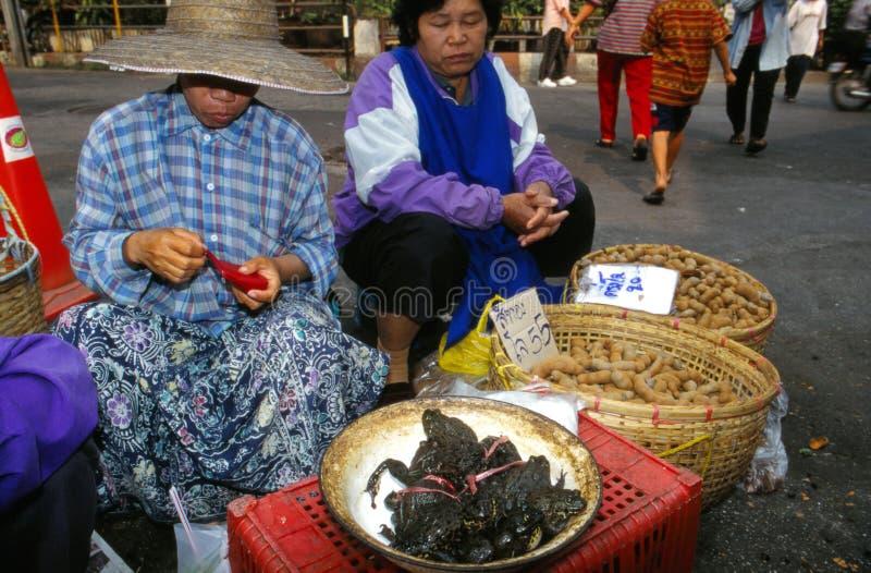 Markt in Thailand. stockfotografie