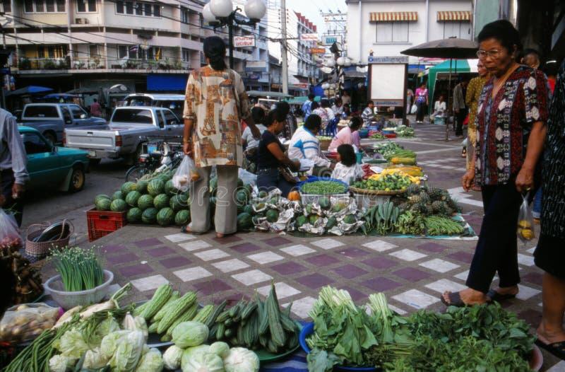 Markt in Thailand. lizenzfreies stockbild