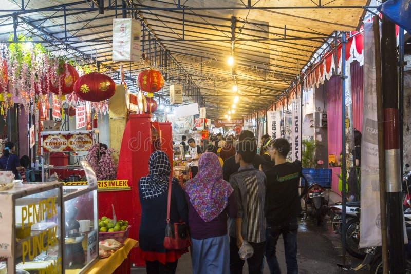 Markt in Yogyakarta, Indonesien lizenzfreie stockfotografie
