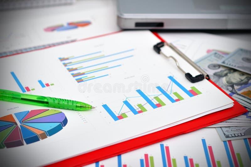 Marktanalyseconcept stock foto