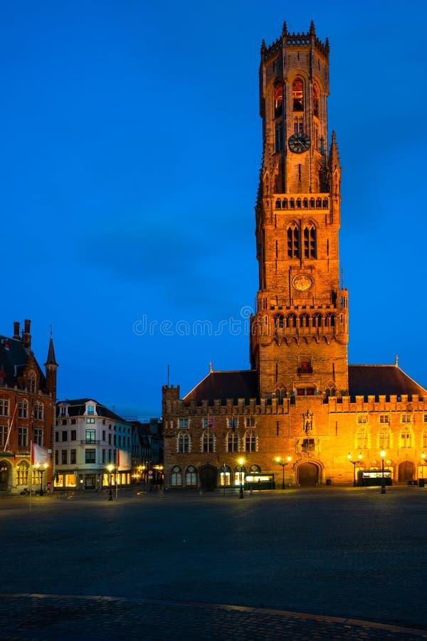 Markten av Bruges, Belgien arkivfoton