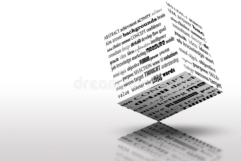 Markterfolg-Ideen und Lösungen lizenzfreie abbildung