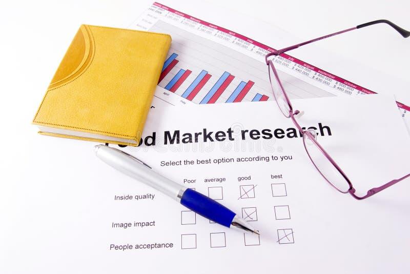 Marktforschung lizenzfreie stockfotografie