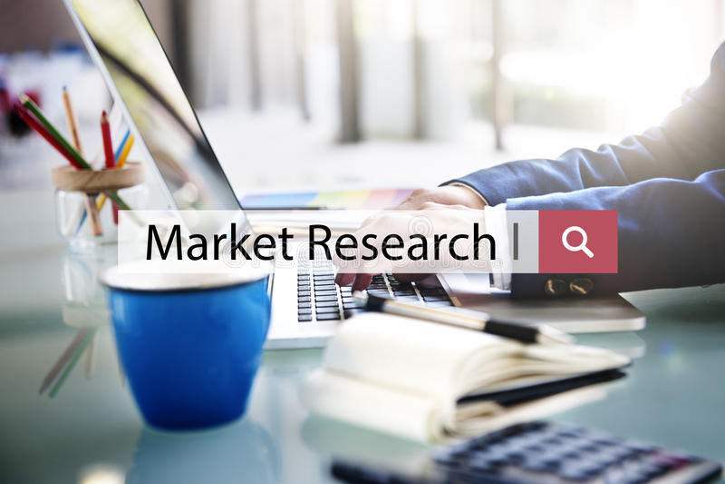 Marktforschungs-Analyse-Firmenverbraucher-Konzept lizenzfreie stockbilder